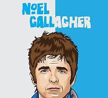 Noel Gallagher by footballistics