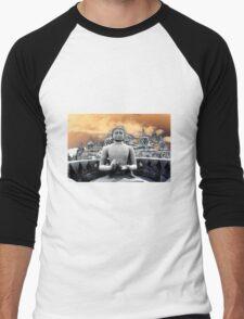 Buddhaville  Men's Baseball ¾ T-Shirt