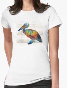 Colorful Pelican Art By Sharon Cummings T-Shirt