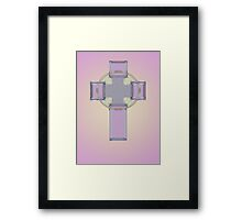 Celtic cross No. 3 Framed Print