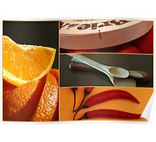 orange things in the kitchen Poster