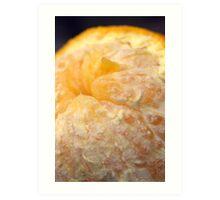 that's no moon... it's an orange! Art Print