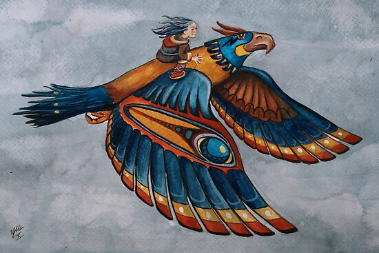 Thunderbird by Sarah  Mac