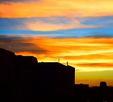 Sunset in downtown Denver by Jackson Killion
