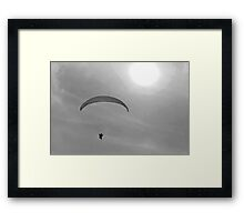 He and the Sun Framed Print