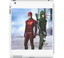 The Flash vs Arrow iPad Case/Skin