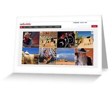 AZ HomePage Features 2010--03-19 Greeting Card