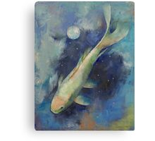 Beneath the Moon and Stars Canvas Print