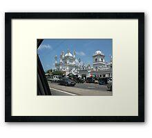 Mosque In Sri Lanka Framed Print