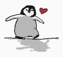 Penguin Love by shandab3ar