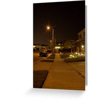 Suburbia, CA Greeting Card