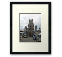 Hindu Church Sri Lanka Framed Print