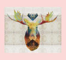 Mystic Moose Art by Sharon Cummings One Piece - Long Sleeve