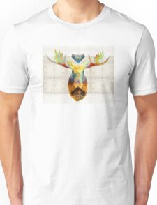 Mystic Moose Art by Sharon Cummings Unisex T-Shirt