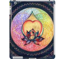 """The Drop of Golden Rain"" - Mandala of Wealth iPad Case/Skin"