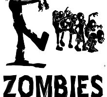 Zombies Hate Fast Food Tshirt T Shirts, Stickers and Other Gifts by zandosfactry