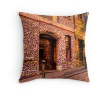 Graffiti in Hosier Lane, Melbourne Throw Pillow