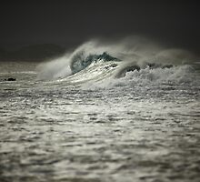 Cyclonic - Snapper Rocks by Paul Manning