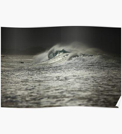 Cyclonic - Snapper Rocks Poster