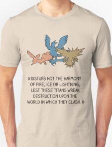 Disturb not the harmony Unisex T-Shirt