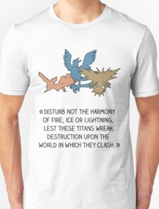Disturb not the harmony T-Shirt