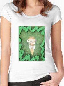 david wi-fi pierce Women's Fitted Scoop T-Shirt