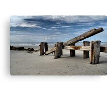 Folly Beach 3 Canvas Print