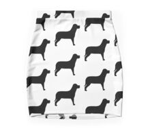 Black Labrador Pencil Skirt
