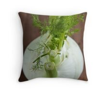 Fennel bulb Throw Pillow