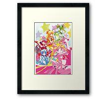 Sailor Moon Team Framed Print
