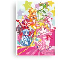 Sailor Moon Team Canvas Print