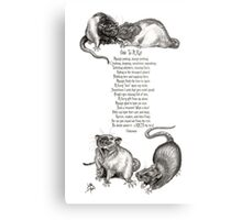 Ode To A Rat Metal Print
