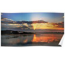 Forster sunset splendour. Poster