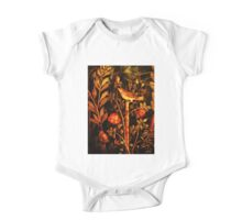 POMPEII COLLECTION NIGHTINGALE WITH RED ROSES One Piece - Short Sleeve