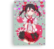Love Live! Nico Yazawa Canvas Print