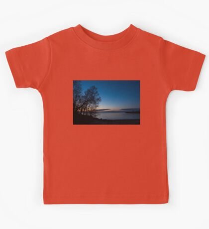 Lake Ontario Blue Hour Kids Tee