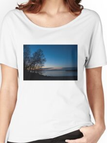 Lake Ontario Blue Hour Women's Relaxed Fit T-Shirt