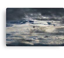 McEntire Jet 5 Canvas Print