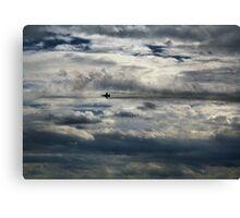 McEntire Jet 6 Canvas Print
