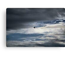 McEntire Jet 8 Canvas Print