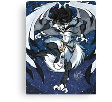 Whiteclawz Canvas Print