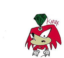 Knuckles the Echidna by XoseXerox