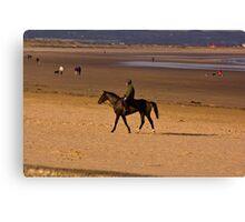Redcar Beach Canvas Print