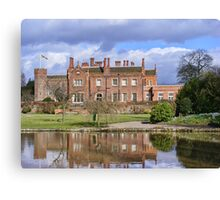 Hodsock Priory Canvas Print