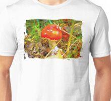 Eat the mushroom and die Unisex T-Shirt