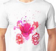 Watercolor Flower 2 Unisex T-Shirt