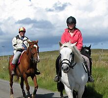 Riding Lesson - Isle of Lewis by BlueMoonRose