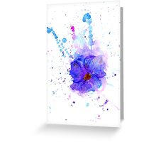 Watercolor Flower 3 Greeting Card