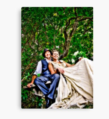 Chris and Jane Canvas Print