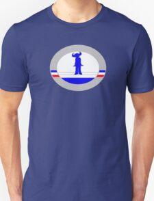 French Buffalo Man T-Shirt
